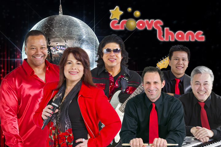 Sacramento's, Napa's and Lake Tahoe's Top Wedding, Party and New Year's Eve Band - The Groove Thang Band